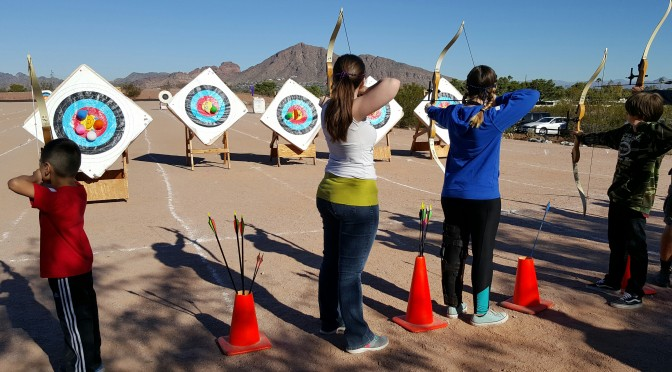 Beginners Archery Course (Session 3, Class 3)