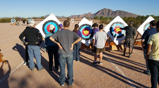 Beginners Archery Course (Session 3, Class 2)